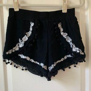 Francesca's Pom Pom Shorts